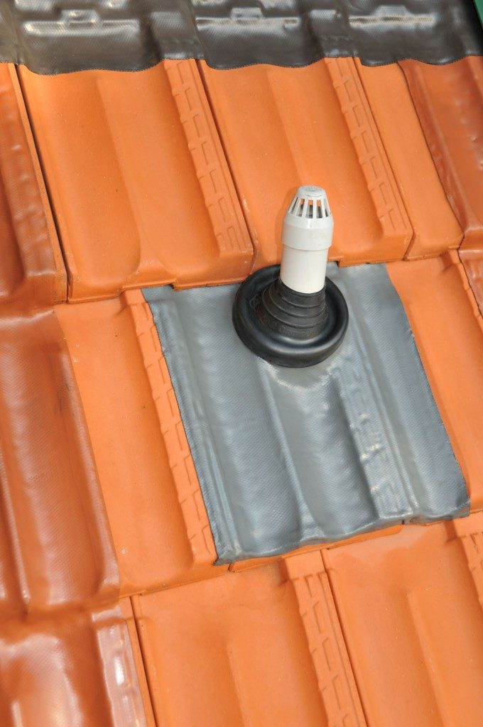 How to do a penetration roof flashing in minutes